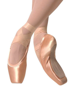 Gaynor Minden GM Sculpted Fit Pointe Shoe-High Heel Box