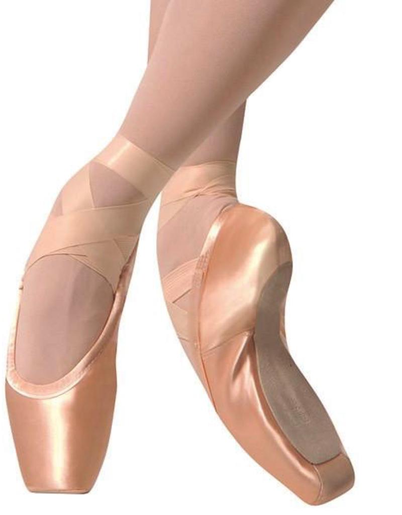 Gaynor Minden GM Sculpted Fit Pointe Shoe-High Heel Box