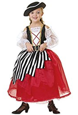 PW Puppet Pirate Girl Costume