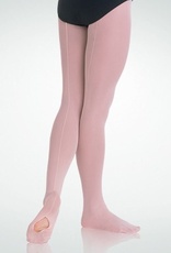 Bodywrappers A45  Mesh Backseam Convertible Tights Adult