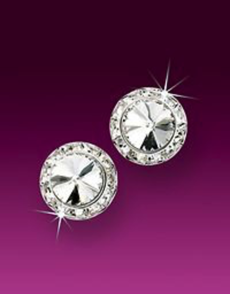 Glamour Goddess GG-15MM Clip On Competition Earring