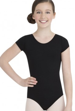 Capezio TB132C Short Sleeve Leotard Youth