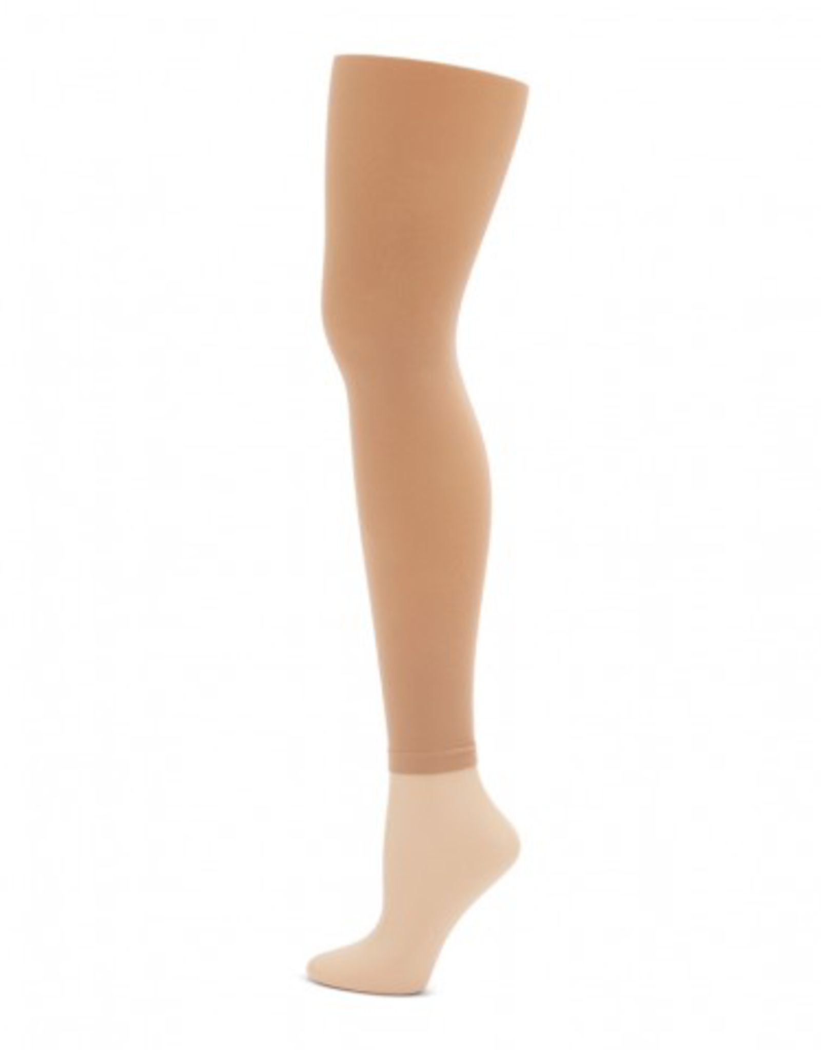 Capezio 1917 Footless Tights with Self Knit Waistband Adult