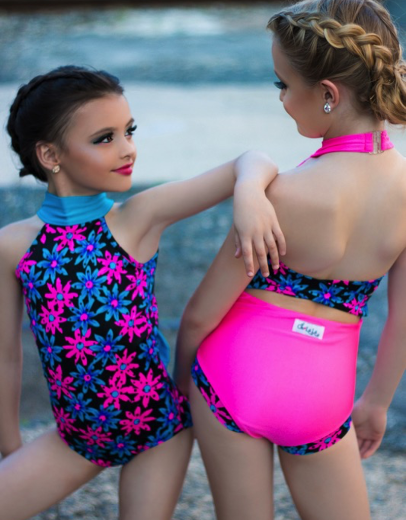Oh La La X-Marks the Spot Leotard Youth