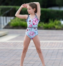 Oh La La Pretty Little Ruffles Leotard Garden Lux Youth