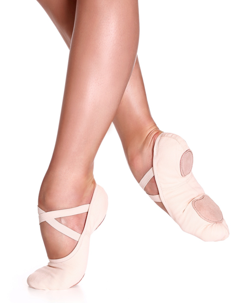 So Danca SD16L Light Pink Canvas Ballet Shoe Adult