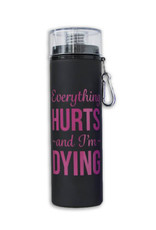 Suffolk Water Bottle (Everything Hurts and I-m Dying)