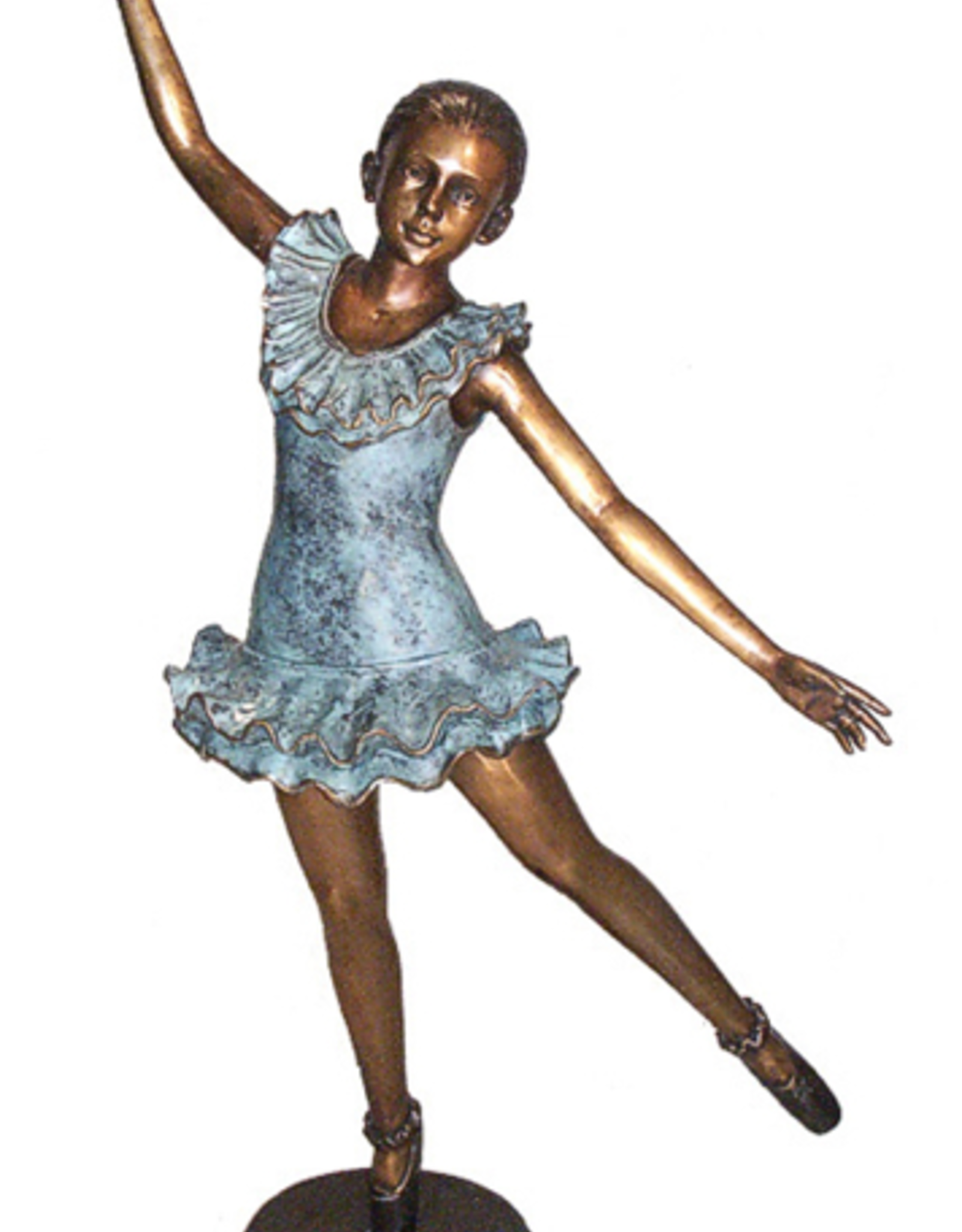 Bronze Ballerina En Pointe B108