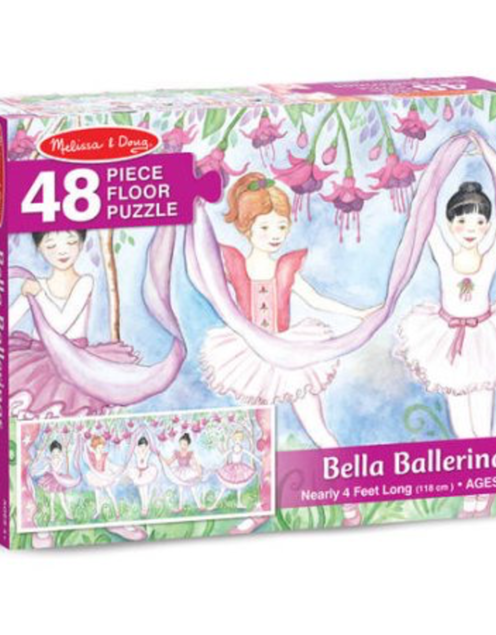 Melissa and Doug Bella Ballerinas Floor Puzzle
