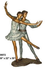 Sports 4 Girls Bronze Ballet Couple B103