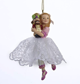 Kurt S Adler C8419 Clara Girl Ornament