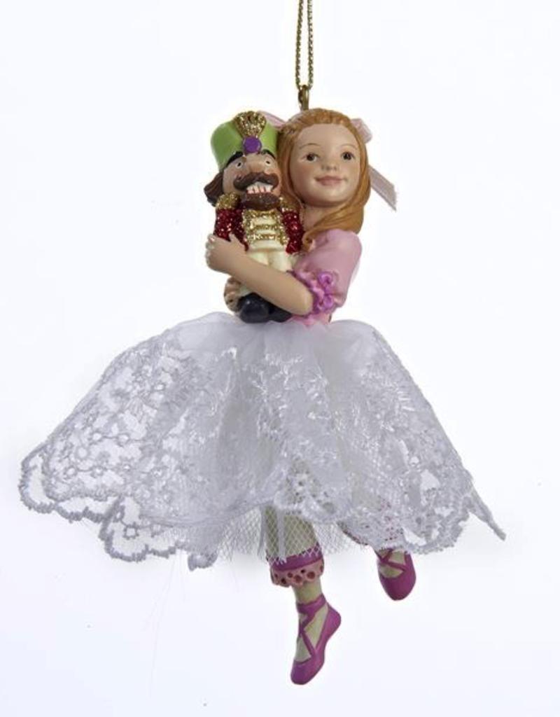 Kurt S Adler C8419 Clara Girl Ornament