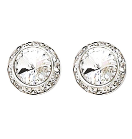 Dasha Medium Competition Earrings Clip On 12mm/17mm