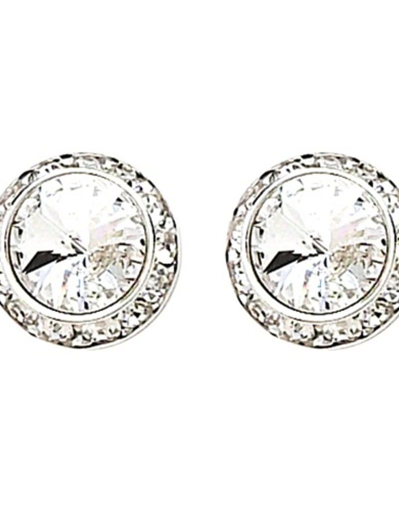 Dasha Small Competition Earrings Clip On 8mm/13mm