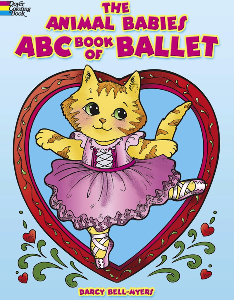 Dover The Animal Babies ABC Book Of Ballet Coloring book