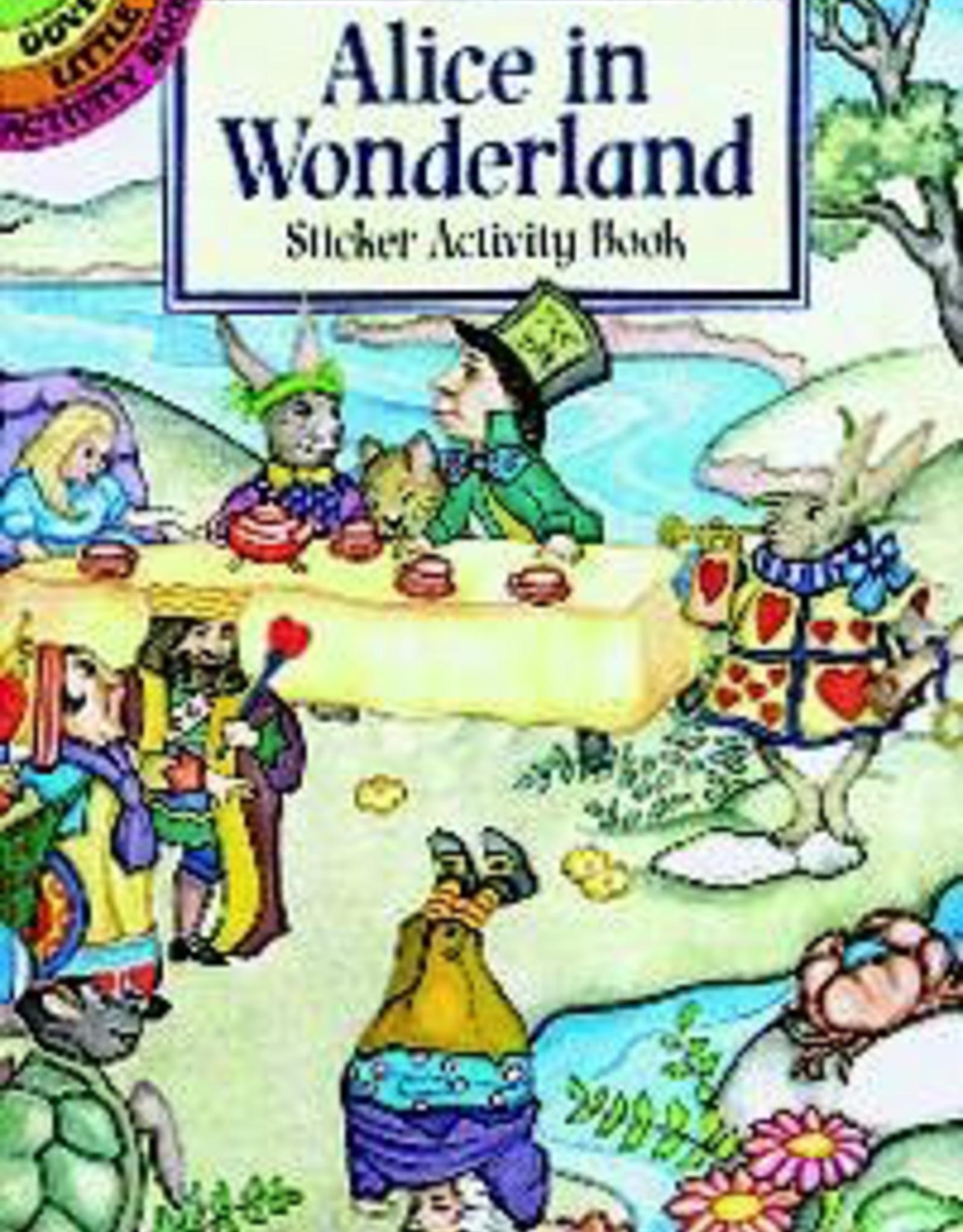 Dover Alice in Wonderland Sticker Activity Book