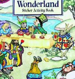 Dover Alice in Wonderland Sticker Activity Book