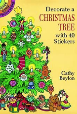 Dover Decorate a Christmas Tree with 40 Stickers