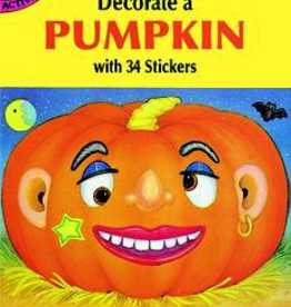 Dover Decorate a Pumpkin with 35 Stickers