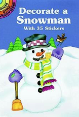 Dover Decorate a Snowman with 35 Stickers