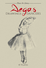 Dover Degas Drawing of Dancers