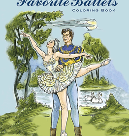 Dover Favorite Ballets Coloring Book