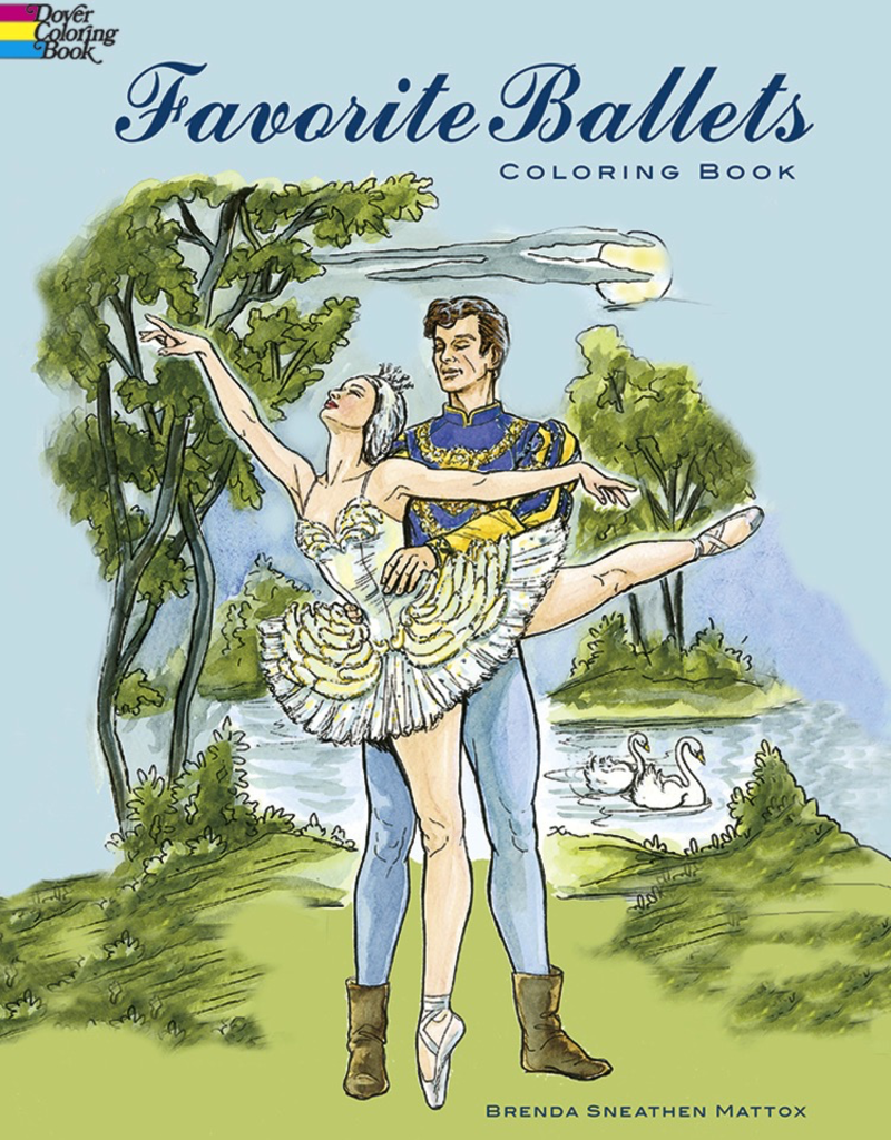 Dover Favorite Ballets Coloring Book