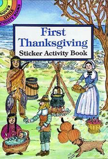 Dover First Thanksgiving Sticker Activity Book