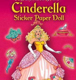 Dover Glitter Cinderella Sticker Paper Doll
