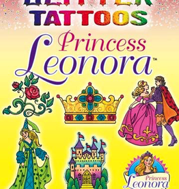 Dover Glitter Tattoos Princess Leonora