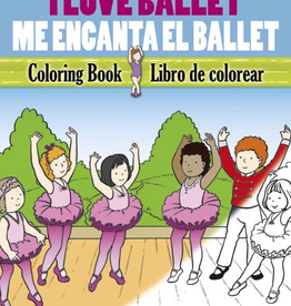 Dover I Love Ballet Coloring Book