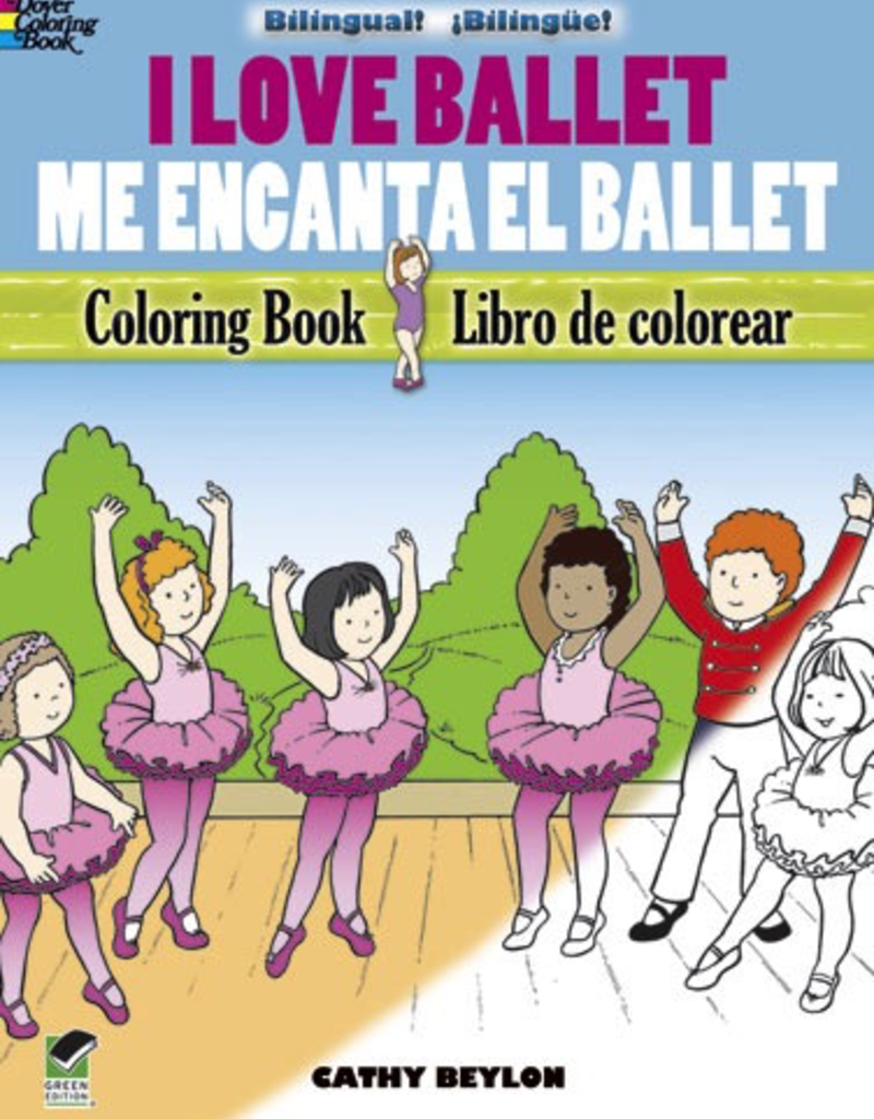 Dover I Love Ballet Coloring Book