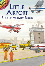 Dover Little Airport Sticker Activity Book