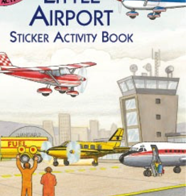 Dover Little Airport Sticker Activity Book