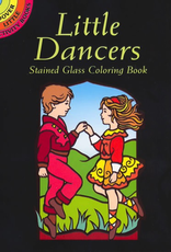 Dover Little Dancers Stained Glass Coloring Book