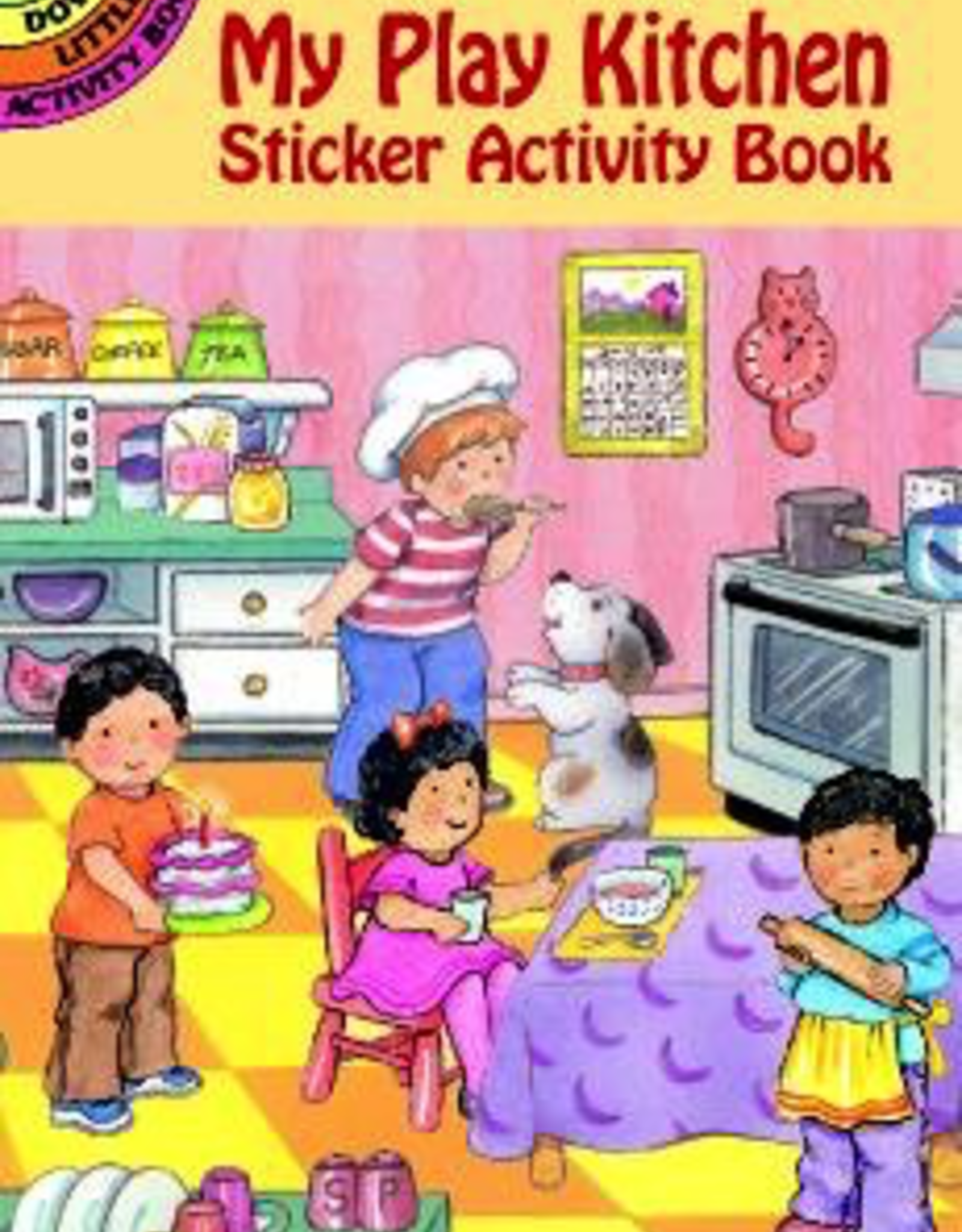 Dover My Play Kitchen Sticker Activity Book