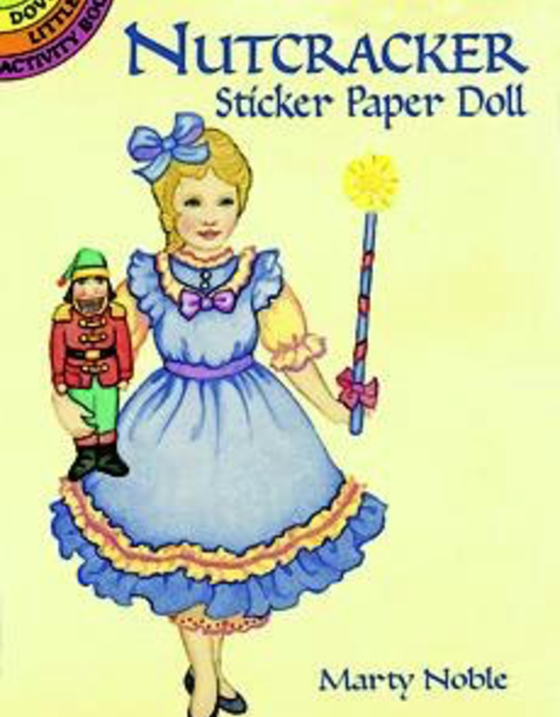 Dover Nutcracker Sticker Paper Doll