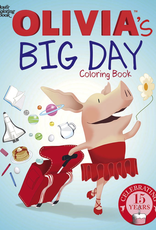 Dover Olivia's Big Day Coloring Book