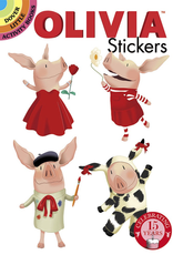 Dover Olivia Stickers