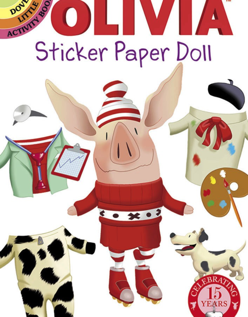 Dover Olivia Sticker Paper Doll