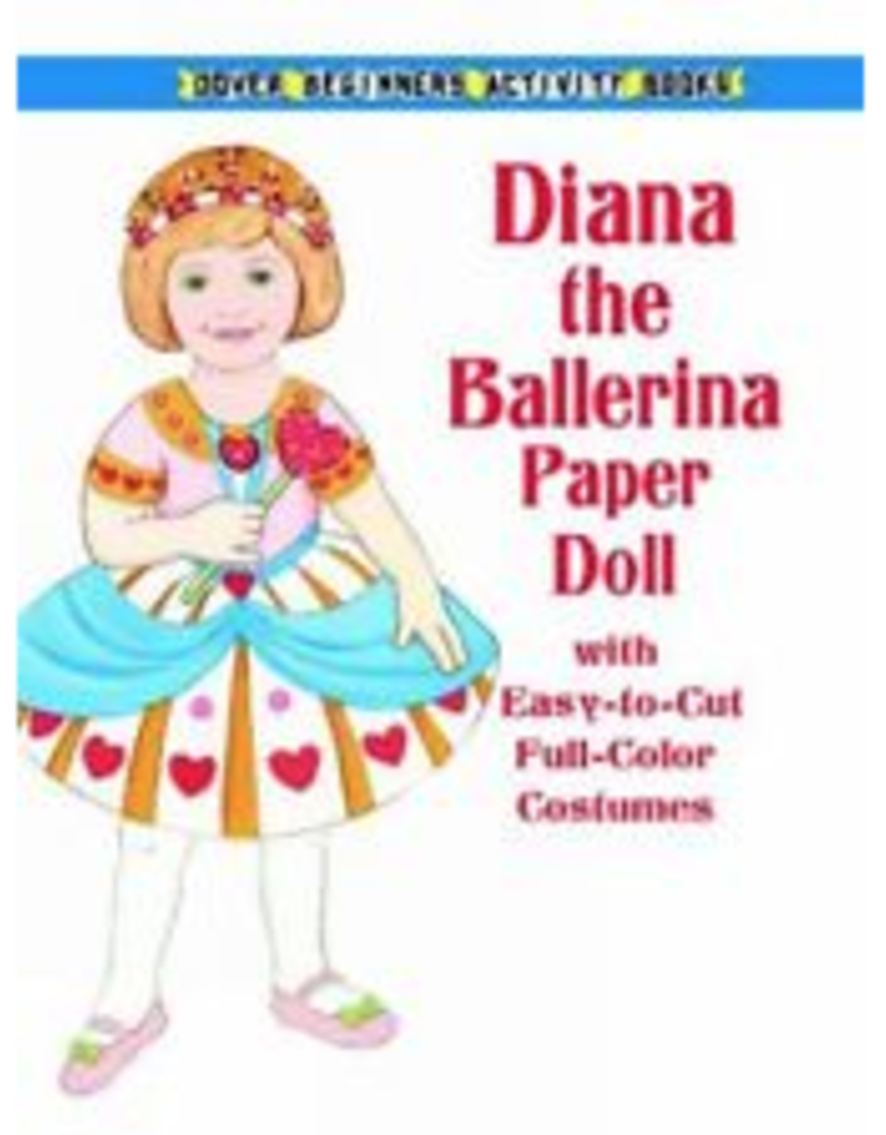 Dover Diana the Ballerina Paper Doll