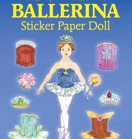 Dover Glitter Ballerina Sticker Paper Doll