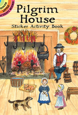 Dover Pilgrim House Sticker Activity Book