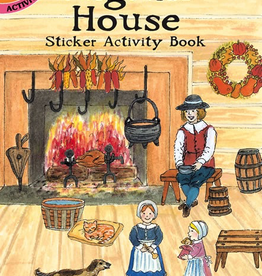 Dover Pilgrim House Sticker Activity Book