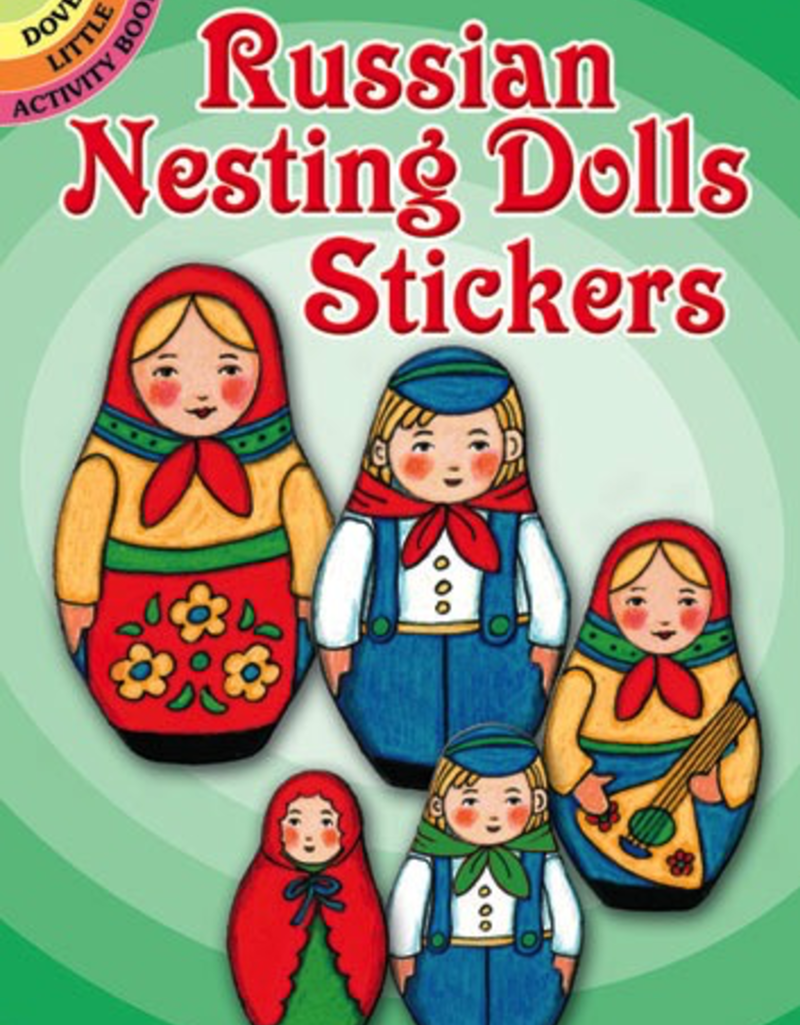Dover Russian Nesting Dolls Stickers
