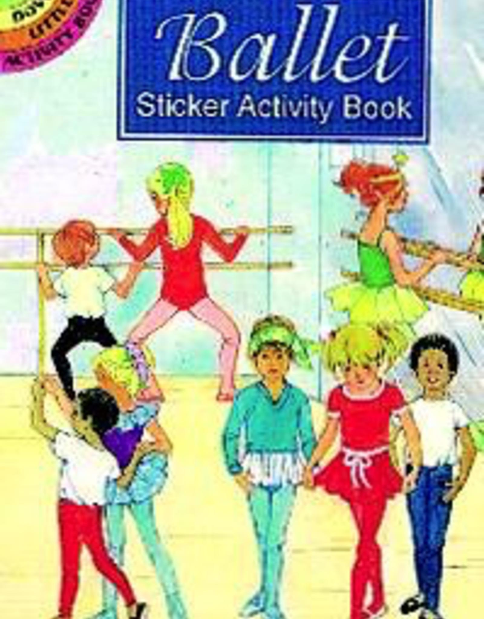 Dover Sticker Book Ballet Activity Book