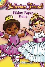 Dover Sticker Book Ballerina Friends