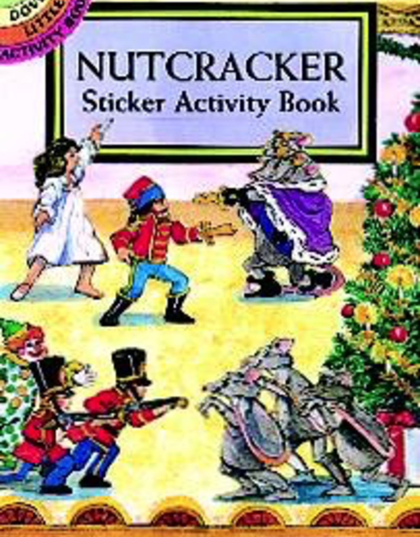Dover Sticker Book Nutcracker