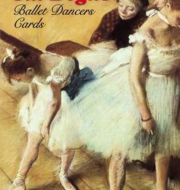Dover Six Degas Ballet Dancers Cards