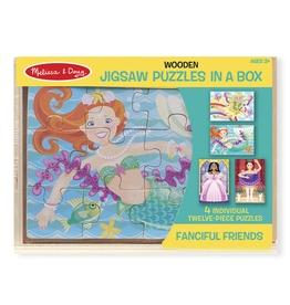 Melissa and Doug 9520 Fanciful Friends Wooden Puzzle